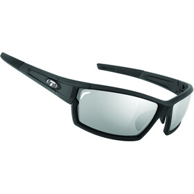 Tifosi Escalate SF Glasses matte black - smoke/AC red/clear